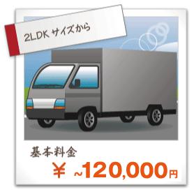 4tトラックアルミバンパック